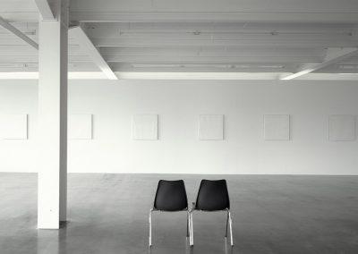 Installation »Weiß«